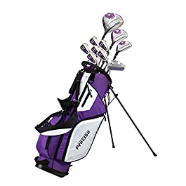 Premium Ladies Golf Club Set Pink and Purple, Right Handed and Left Handed, Sizes/Height – Standard, Petite, Tall