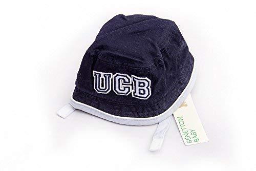 The United Colors of Benetton - Sombrero - para bebé niño Navy ...