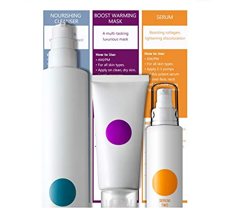 Somme Institute Purify & Brighten Facial Skin Care Kit - Face Treatment Cosmetics Set