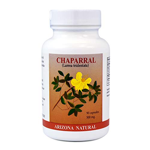 Arizona Natural - Chaparral (Larrea Tridentata) 500 mg, 90 Capsules