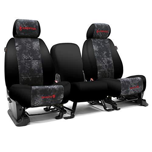 Coverking CSC2KT10DG9576 Tailored Seat Covers Neosupreme Kryptek Camo Typhon with Black Sides for 2013-2019 Dodge Truck Ram 250,350,2500,3500 Full