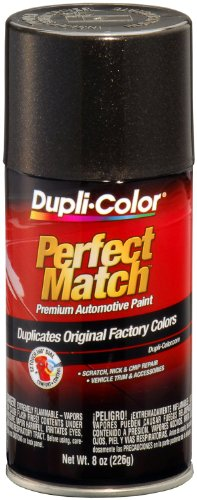 7 Universal Black Metallic Perfect Match Automotive Paint - 8 oz. Aerosol ()