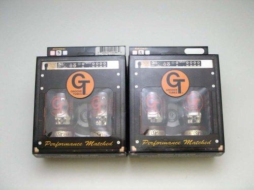 KT66C QT (マッチドカルテット) 4本セット販売 パワー管 ゴールドライオンKT66の復刻版 グルーブチューブ 真空管 パフォーマンスレート10番(一番歪まない)  B006GLE0DA