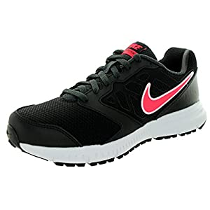 Nike Womens Downshifter 6 (Wide) Black/Hyper Punch/Anthracite Running Shoe 7.5 Wide Women US