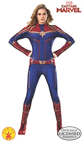 Rubie's Women's Captain Marvel Hero Suit, As