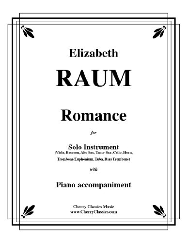 Romance for Solo Instrument with Piano Accompaniment