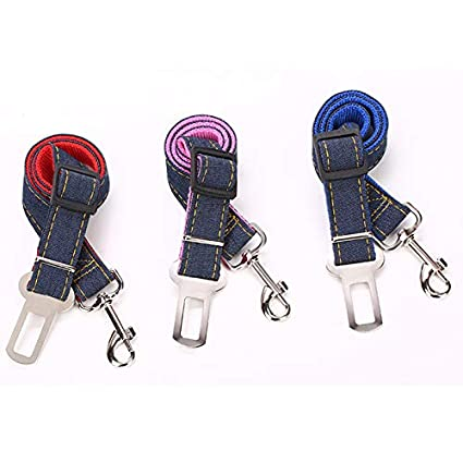 Kentop arn/és de Seguridad Ajustable para Perros Cintur/ón de Seguridad para Perros