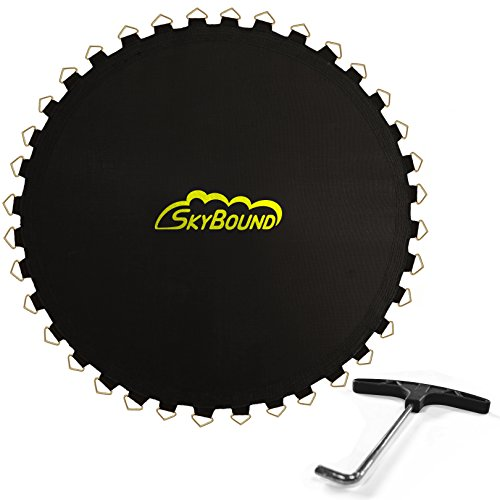 """Skybound Replacement Trampoline Mat with Spring Tool, 72 Rings & 150"""" Wide (fits 5.5"""" Springs), 14ft Diameter Frame"""