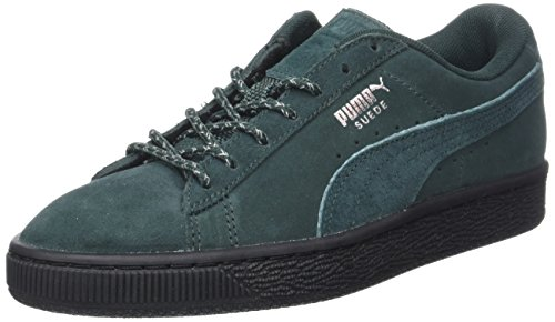 Vert Gables Basses Sneakers Mixte Suede Weatherproof Black Green Adulte Puma Classic pIwxUzqZ0