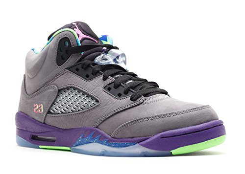 Nike Gutter Air Jordan 5 Retro (gs) Bel Air Lær Basketball Sko (størrelse: 5.5y)