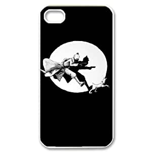 HXYHTY Tintin & Milou Phone Case For Iphone 4/4s [Pattern-3]