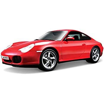 Maisto 1:18 Scale Porsche 911 Carrera 4S Diecast Vehicle (Colors May Vary)