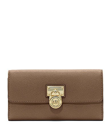 Michael Kors Hamilton Large Flap Wallet Clutch Dark Dune - Buy Online in UAE.    Apparel Products in the UAE - See Prices, Reviews and Free Delivery in  Dubai ... 5a7ec74761