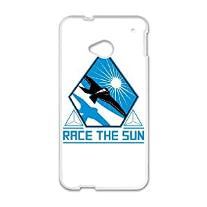 race the sun HTC One M7 Cell Phone Case White present pp001_7903031