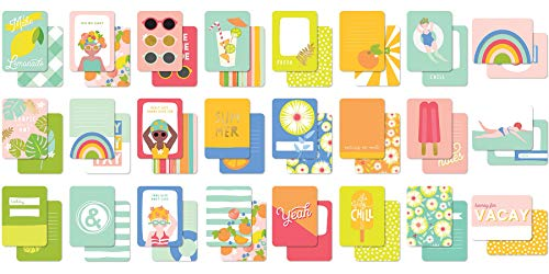 (Tutti Frutti Double-sided Journal Cards)