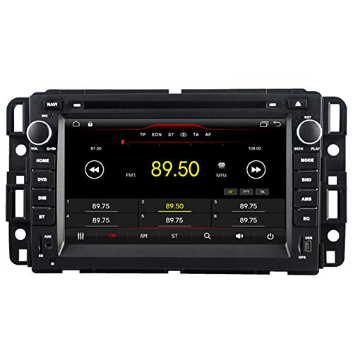 Witson Android 9.1 for GMC 07-12 Acadia,Sierra and Yukon, 10-12 Savanna Van, 08-10 Hummer H2, 07-10 Saturn Outlook and 08-10 Vue in Dash Touch Screen Car DVD GPS Navigation SWC