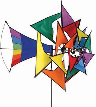 elliot 1015961 WINDSPIEL Large Rainbow Windmill Spinner