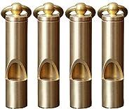 Premium Mini Emergency Whistle-H62 Brass Loud Version EDC Tools