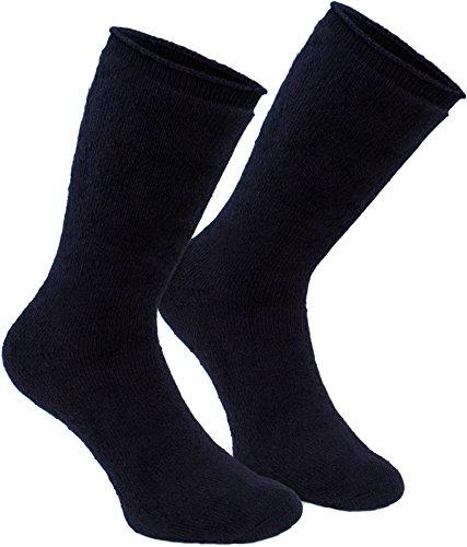 BRUBAKER Chaussettes thermiques 'Heat my Feet' - Lot de 2 Paires - Ultra chaudes et confortables - Unisexe 3