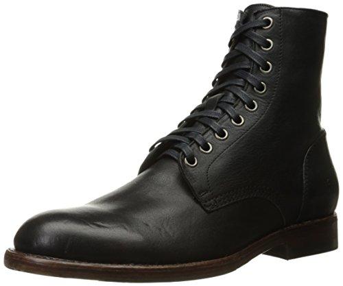 FRYE Men's Will Lace up Combat Boot, Black, 13 D US