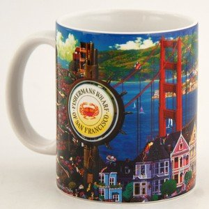 ((7 6/18) San Francisco Coffee Mug A.Chen Artwork 11oz SFMugola)