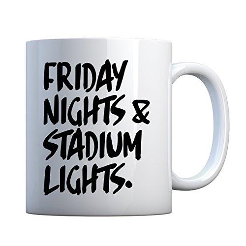 (Mug Friday Nights Stadium Lights Large Pearl White Gift Mug)