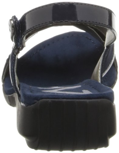 Anne Klein - Sandalias de vestir para mujer azul marino