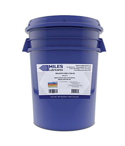 Milesyn sxr 15w40 api cj 4 full synthetic diesel motor oil for Gallon of motor oil price