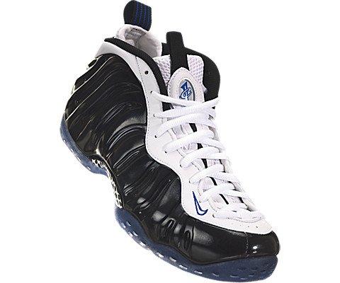 Nike Men's Air Foamposite One Black/White/Game Royal Basketball Shoe 10 Men US