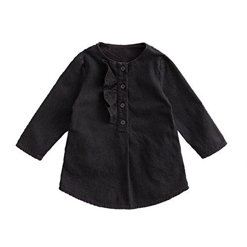 next baby denim dress - 6
