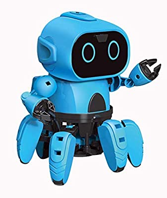 Eyours STEM Robot Kits DIY Mechanical Robot Building Set with Gesture Sensing Function Toy for Boys, Girls, Toddlers, Kids