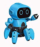 Eyours STEM Robot Kits DIY Mechanical Robot Building Set with Gesture Sensing Function Toy for Boys, Girls, Toddlers, Kids