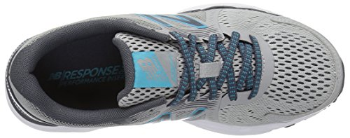 New Balance Women's W680v4 Running Shoe, Parent, US Steel/Thunder