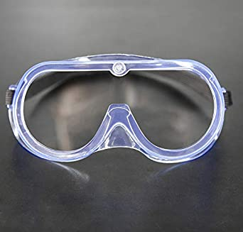 Gafas de prevención de epidemias Anti-vaho Anti-vaho Anti-viento Anti-humedad Anti-gotas Salpicaduras Seguridad Gafas protectoras Máscara transparente Doble certificado