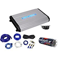 Hifonics Zeus ZXX-2400.1D 2400w RMS Mono Car Amplifier+Amp Kit+Capacitor+Remote