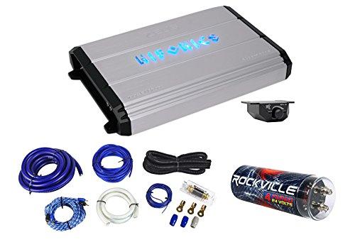 Hifonics Zeus ZXX-2400.1D 2400w Mono Car Amplifier+Amp Kit+Capacitor+Remote