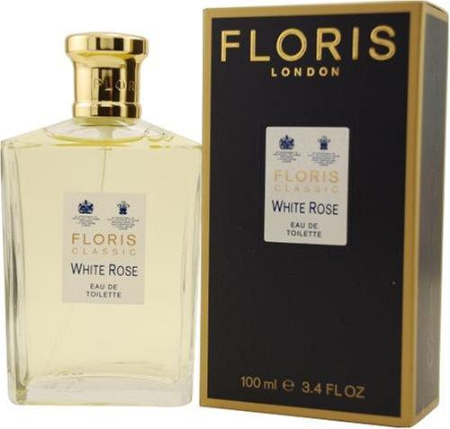 Floris White Rose by Floris Of London For Women. Eau De Toilette Spray 3.4-Ounces