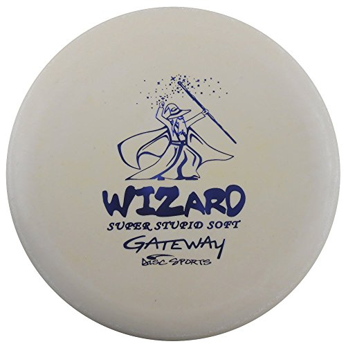 Gateway Disc Sports Sure Grip S Super Stupid Soft Wizard Putter Golf Disc [Colors may vary] - 170-172g (Super Gateway Soft Wizard Disc)