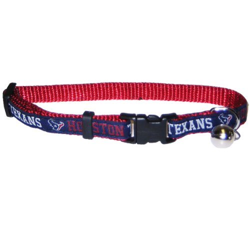 NFL Houston Texans Cat Collar - One adjustable size fits most - Collar Texans Dog Houston