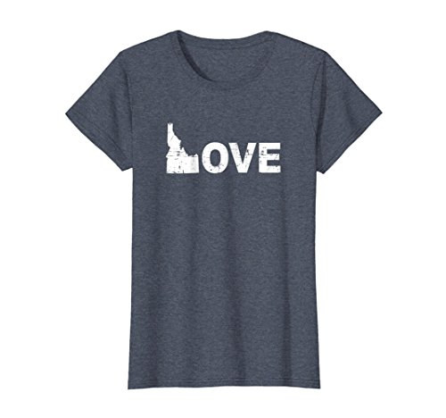 Womens Womens I Love Idaho   Boise   Potato   T Shirt   Gift Idea