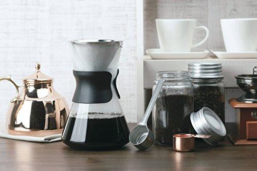 TAKAKUWA Coffee Scoop Measuring Spoon Long - Copper (Japan Import) by Takakuwa Kinzoku (Image #3)