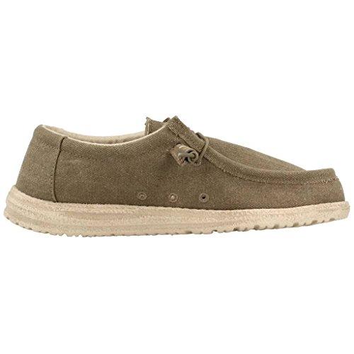 Chaussures de ville, color Vert , marca HEY DUDE, modelo Chaussures De Ville HEY DUDE 61X52C4 Vert
