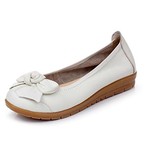 Zapatos de gran tamaño de las señoras/ zapatos de res/Zapatos de tacón plano A