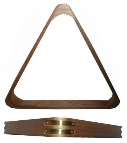 (Eight Ball Billiard Rack with Oak)
