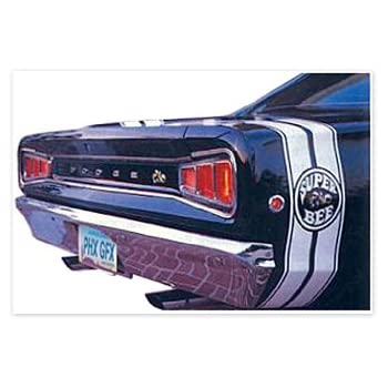 1968 Dodge Super Bee Bumble Bee Decals /& Stripes Kit