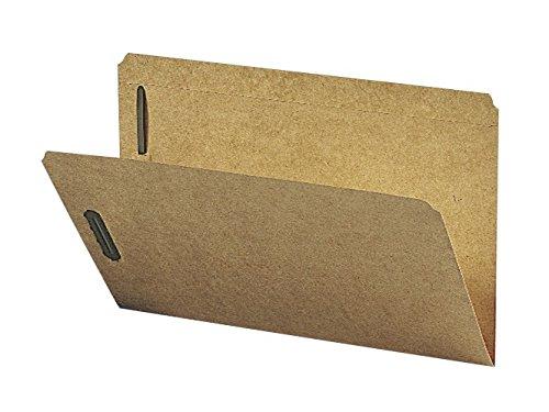 Smead Fastener File Folder, 2 Fasteners, Reinforced Straight-Cut Tab, Legal Size, Kraft, 50 per Box (19813)