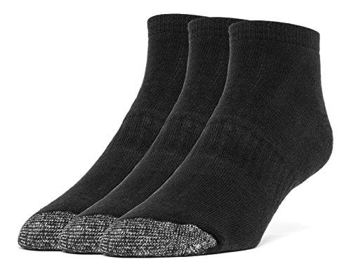 Galiva Womens Cotton Extra Soft Ankle Cushion Socks - 3 Pairs
