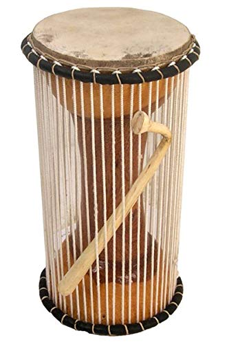 Paragon Heartwood Mali Tama 5'' x 11'' - Professional African Talking Drum - Stick included by Africa Heartwood Project (Image #3)