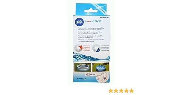 Gre KKP525 Kit de Tratamiento químico para Piscinas pequeñas sin ...