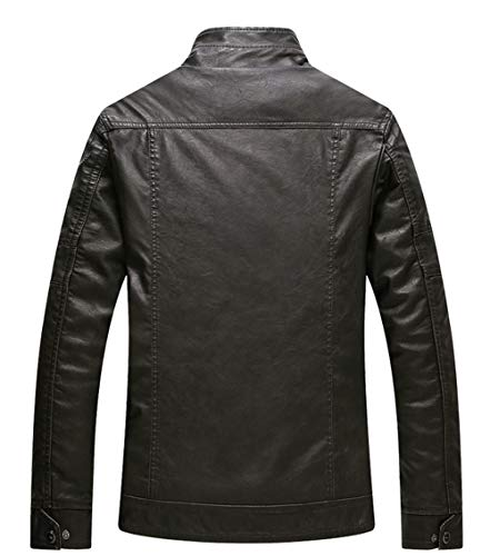 Plus Bronze Coquille En Homme Velours Polyester Blousons Lavé Pu q6wHX4RXx